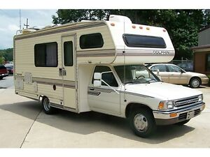 Looking to buy mid / late 80's Toyota/Nissan motorhome