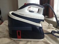 PHILIPS EasyCare GC8376/02 Steam Generator Iron- Purple/White