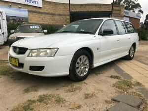 2007 Holden Commodore VZ@VE Executive White 4 Speed Automatic Wagon South Nowra Nowra-Bomaderry Preview