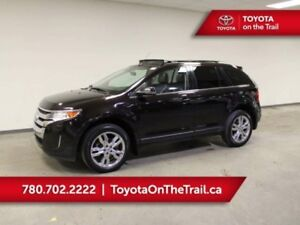 Ford Edge Limited Panoramic Sunroof Leather Nav Awd He