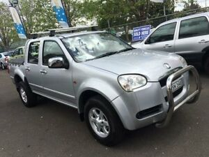 2010 Great Wall V240 K2 (4x2) Silver 5 Speed Manual Dual Cab Utility Campbelltown Campbelltown Area Preview
