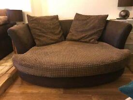 2 seater 'Snuggle' Sofa