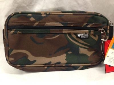 Travel Organizing Toiletry Tote Bag Western Pack Oasis Camouflage
