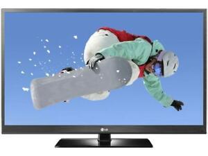 """60""""LG 1080p 600hz  plasma TV ---NO TAX"""