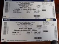 Tenderloins tickets (newcastle) x 2