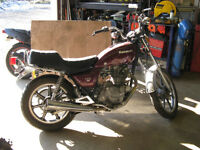 1983 Kawasaki KZ250 ltd for parts or repair