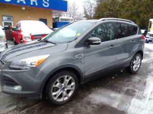 2014 FORD ESCAPE TITANIUM LOADED,ROOF,LEATHER NAV!!