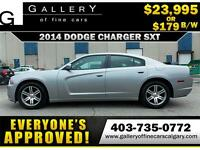 2014 Dodge Charger SXT $179 bi-weekly APPLY NOW DRIVE NOW