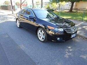 2008 Honda Accord Euro CU Luxury Black 5 Speed Automatic Sedan Somerton Park Holdfast Bay Preview