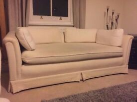 FREE 2 x 2 seater cream sofas