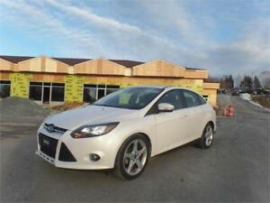 $99 BI WKLY OAC! 2012 Focus Titanium NAVIGATION! HEATED SEATS!.
