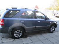 KIA SORENTO 2.5 CRDi XE 5dr Auto (blue) 2003