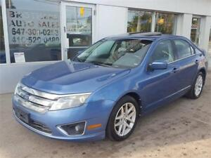 2010 FORD FUSION SEL | AUTO |  SUNROOF | ALLOYS | 4 CYLINDER