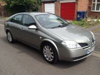 Nissan Primera SX 2.2 diesel 11 months mot very good condition big screen sat nav 6 x cd tow bar