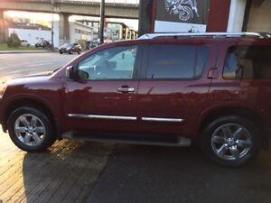 2012 Nissan Armada Platinum Edition SUV, Crossover North Shore Greater Vancouver Area image 1