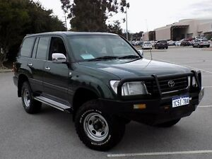 1999 Toyota Landcruiser FZJ105R GXL Green 4 Speed Automatic Wagon Maddington Gosnells Area Preview
