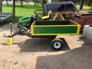 John Deere Custom Made Dump Trailer