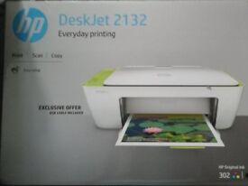 HP Deskjet 2132 printer. Print-Scan-Copy.