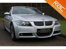 2007 07 BMW 3 SERIES 3.0 325D M SPORT 4D AUTO 195 BHP DIESEL