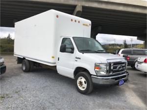 Work Truck Spring Sale! 450 Cutaway Cube Van Ford