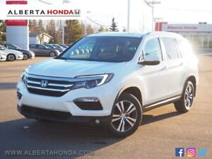 2016 Honda Pilot EX-L. Low kms. Sunroof. Fully Loaded. Driver As