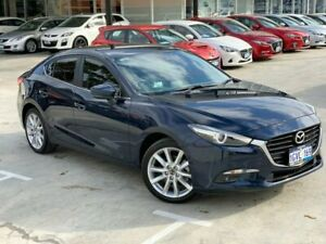 2016 Mazda 3 BN5236 SP25 SKYACTIV-MT GT Blue 6 Speed Manual Sedan Palmyra Melville Area Preview
