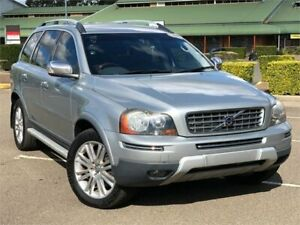 2008 Volvo XC90 P28 MY08 D5 Silver 6 Speed Sports Automatic Wagon Mount Druitt Blacktown Area Preview