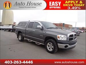 2008 Dodge Ram 1500 4X4 ST CANOPY NAVIGATION 90 DAY NO PAYMENTS