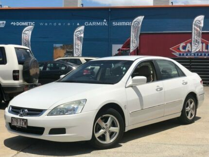 2005 Honda Accord 7TH GEN VTi White 5 Speed Automatic Sedan Greenslopes Brisbane South West Preview