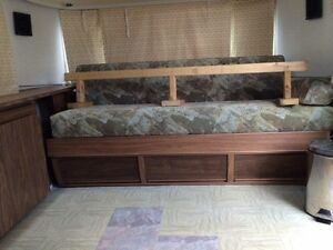 Side hutch, table and couch