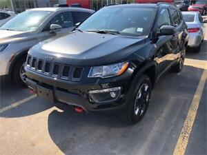 2017 Jeep Compass Trailhawk- LTHR, UCONNECT, 4X4, ONLY$204 b/w
