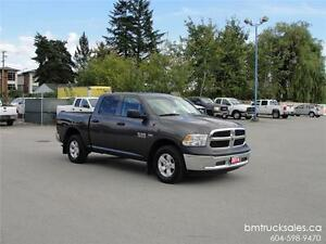 2014 DODGE RAM 1500 ST CREW CAB SHORT BOX 4X4 **HEMI**