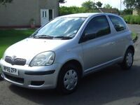 Toyota Yaris 1.0i T2 , 55 reg , ------- 53000 Miles ------- , Excellent Condition