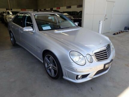 2007 Mercedes-Benz E63 W211 MY08 AMG Silver 7 Speed Sports Automatic Sedan Wangara Wanneroo Area Preview