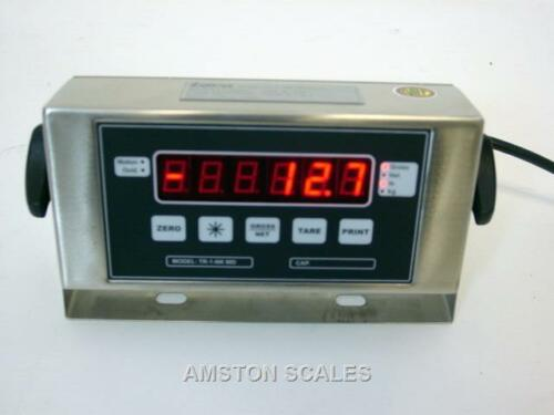 DISPLAY HEAD MONITOR LOAD CELL TRUCK FLOOR WEIGH SCALE STAINLESS STEEL BOX NEW