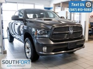 2014 Ram 1500 Sport Crew Cab 4x4 Heat/Leather Seat Nav Roof