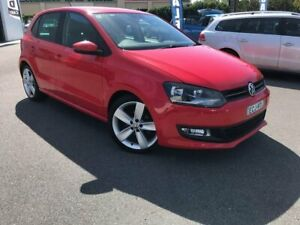 2010 Volkswagen Polo 6R 66TDI DSG Comfortline Red 7 Speed Sports Automatic Dual Clutch Hatchback Chinderah Tweed Heads Area Preview
