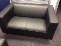 Compact 2 seater sofa and chair