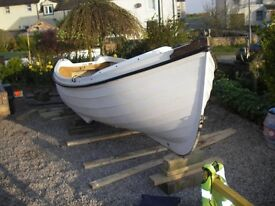 Orkney Long liner 16 with trailer £1400.