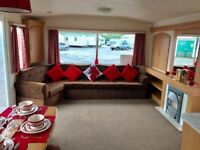 Cheap Starter Family Static Caravan For Sale in East Yorkshire on 12 Month Site with Sea Views