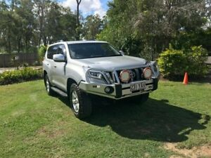 2015 Toyota Landcruiser Prado KDJ150R MY14 GXL Silver 5 Speed Sports Automatic Wagon Capalaba Brisbane South East Preview
