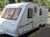 Compass Corona Fixed End Bed Four Berth Touring Caravan