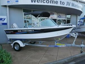 2016 Quintrex 430 Fishabout Laverton North Wyndham Area Preview