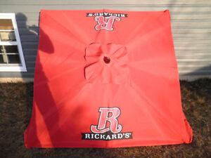 Rickards Red Patio Umbrella.