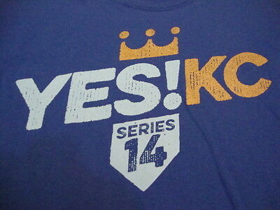 MLB Kansas City Royals Major league Baseball Fan series 14 Party Blue T Shirt XL - Party City League City