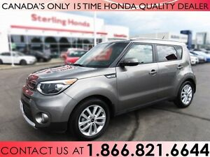 2017 Kia Soul EX+ | NO ACCIDENTS | 1 OWNER | LOW KM'S!