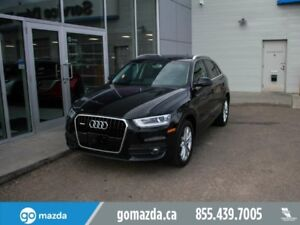 2015 Audi Q3 TECHNIK AWD NAV LEATHER SUNROOF REMOTE START