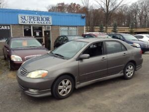 2003 Toyota Corolla CE Fully Certified!