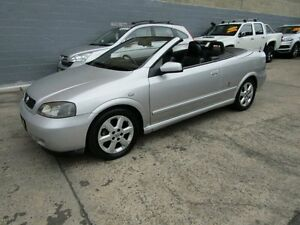 2002 Holden Astra TS Convertible 4 Speed Automatic Convertible Leichhardt Leichhardt Area Preview