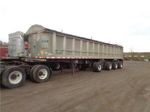 2007 STARGATE 44'FT ALUMINUM 4 AXLE SPIFF END DUMP Kitchener / Waterloo Kitchener Area image 2